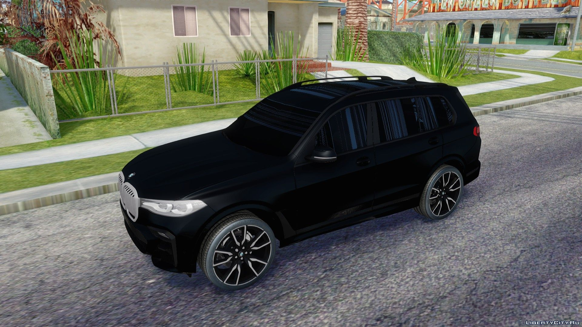 Bmw X7 M50d 2020 For Gta San Andreas