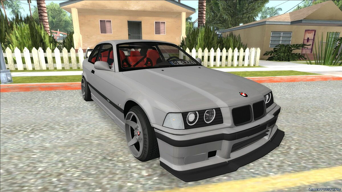 BMW car BMW M3 E36 for GTA San Andreas