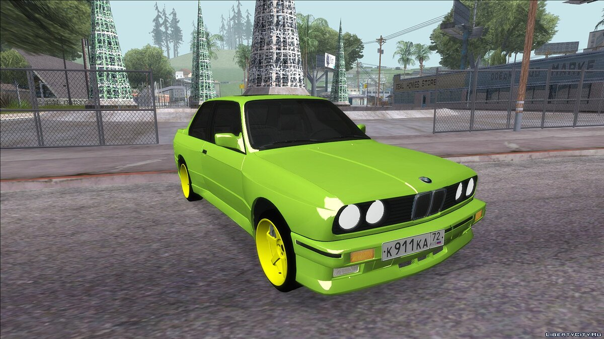 BMW car BMW M3 E30 for GTA San Andreas
