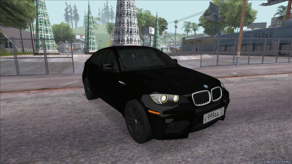 BMW car Bmw x6m for GTA San Andreas