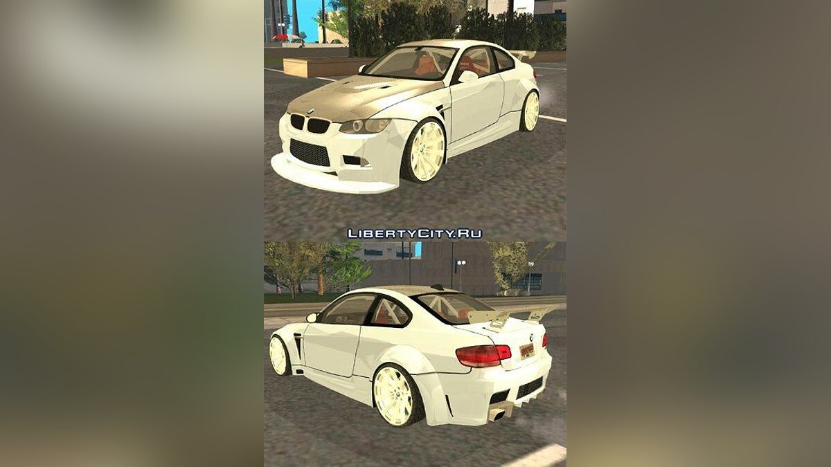 BMW car BMW M3 E92 TUNED for GTA San Andreas