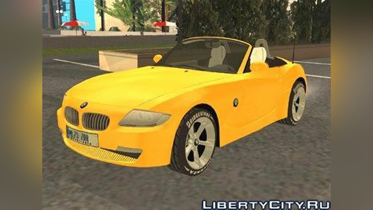BMW car 2006 BMW Z4 Roadster for GTA San Andreas