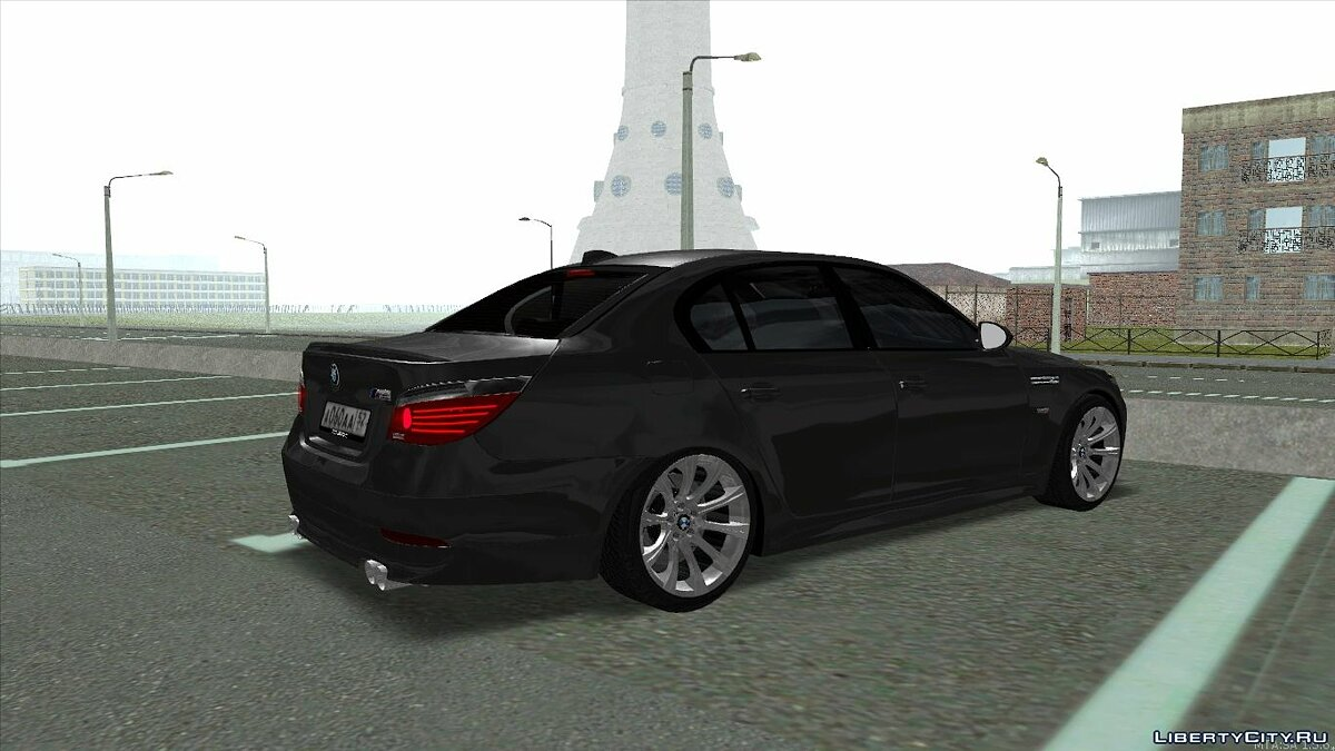 BMW M5 E60 for GTA San Andreas - Картинка #2