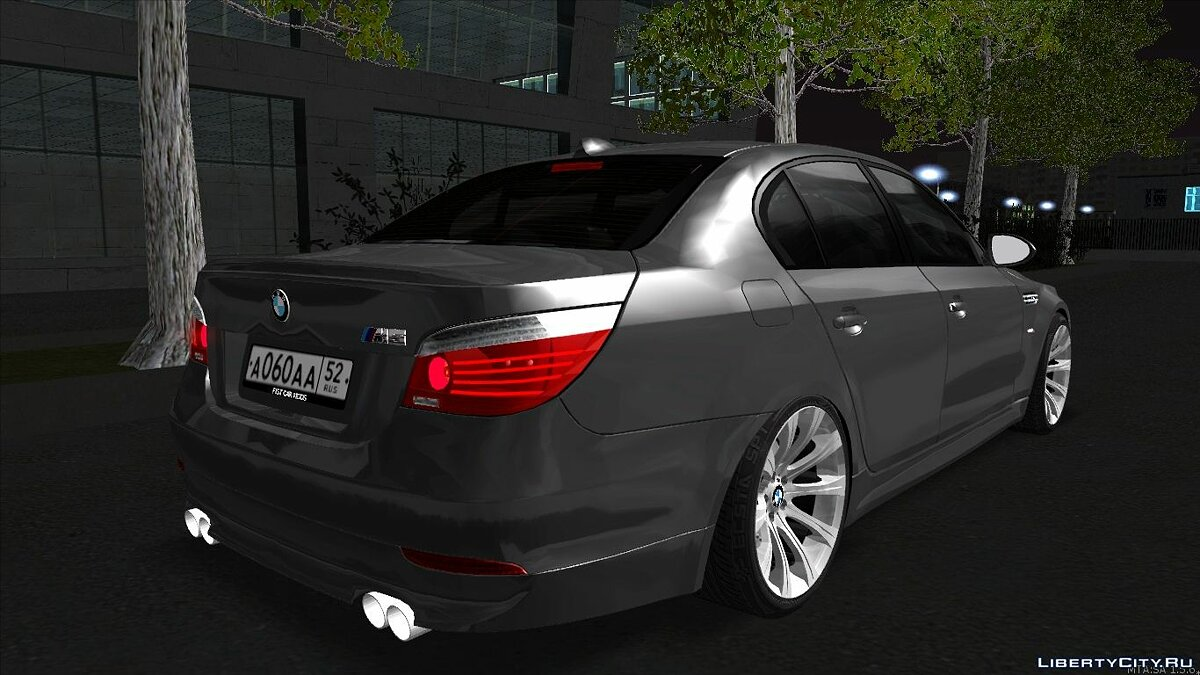 BMW M5 E60 for GTA San Andreas - Картинка #3