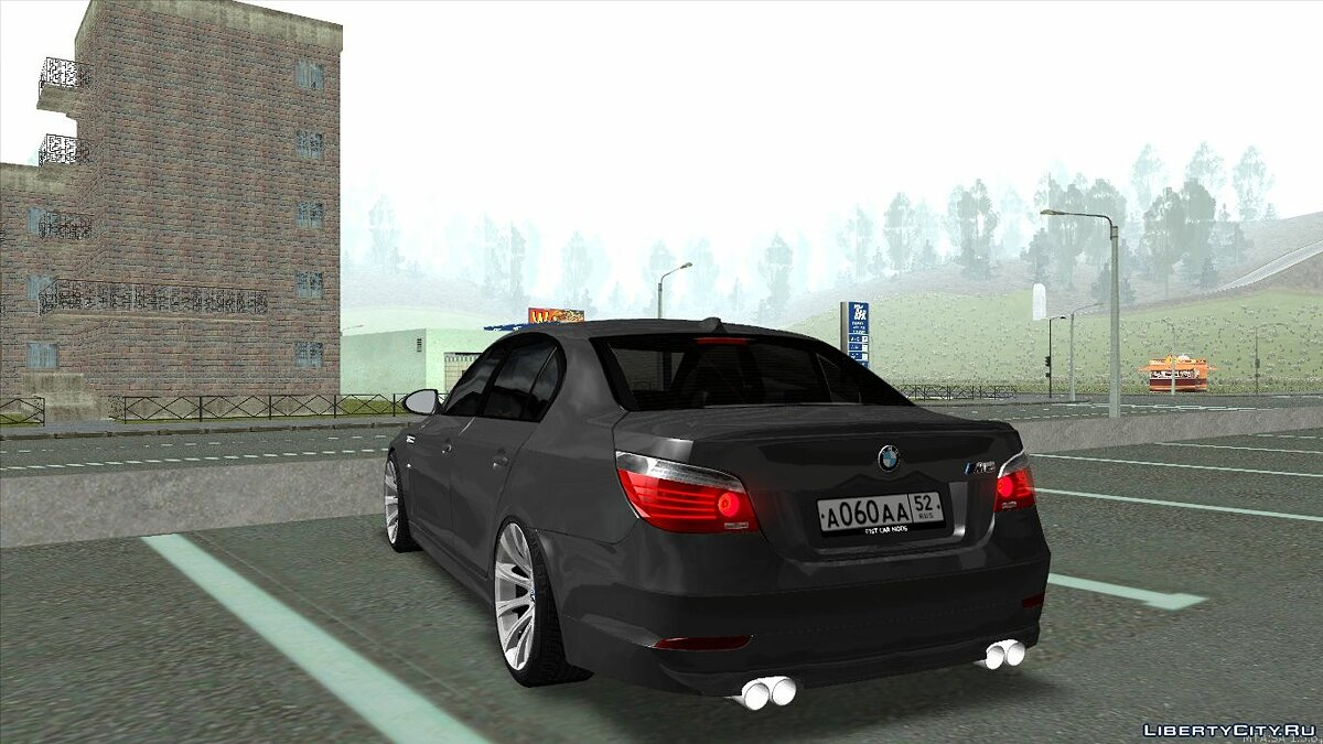 BMW M5 E60 for GTA San Andreas - Картинка #5