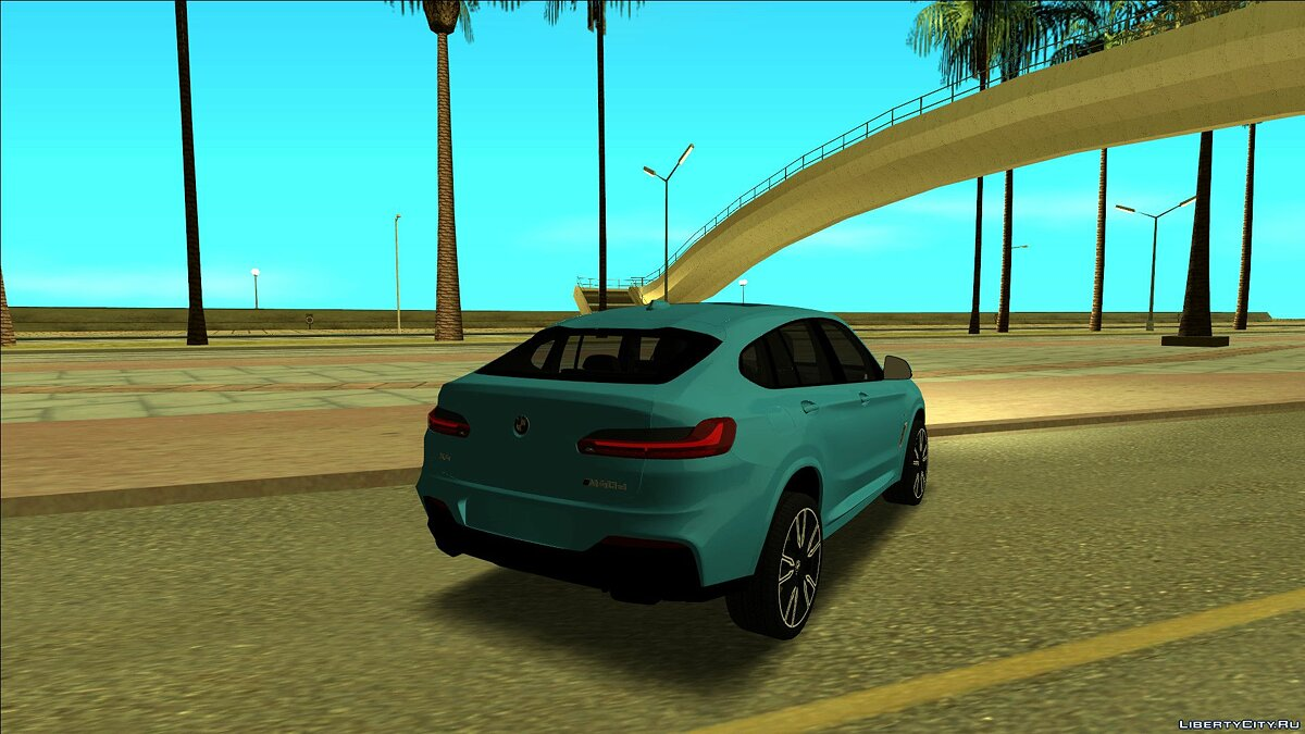 BMW car BMW X4 xDrive M40d for GTA San Andreas