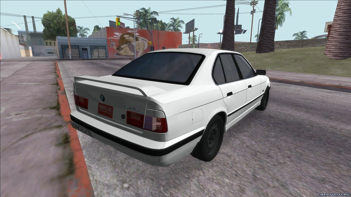 BMW car BMW M5 E34 for GTA San Andreas