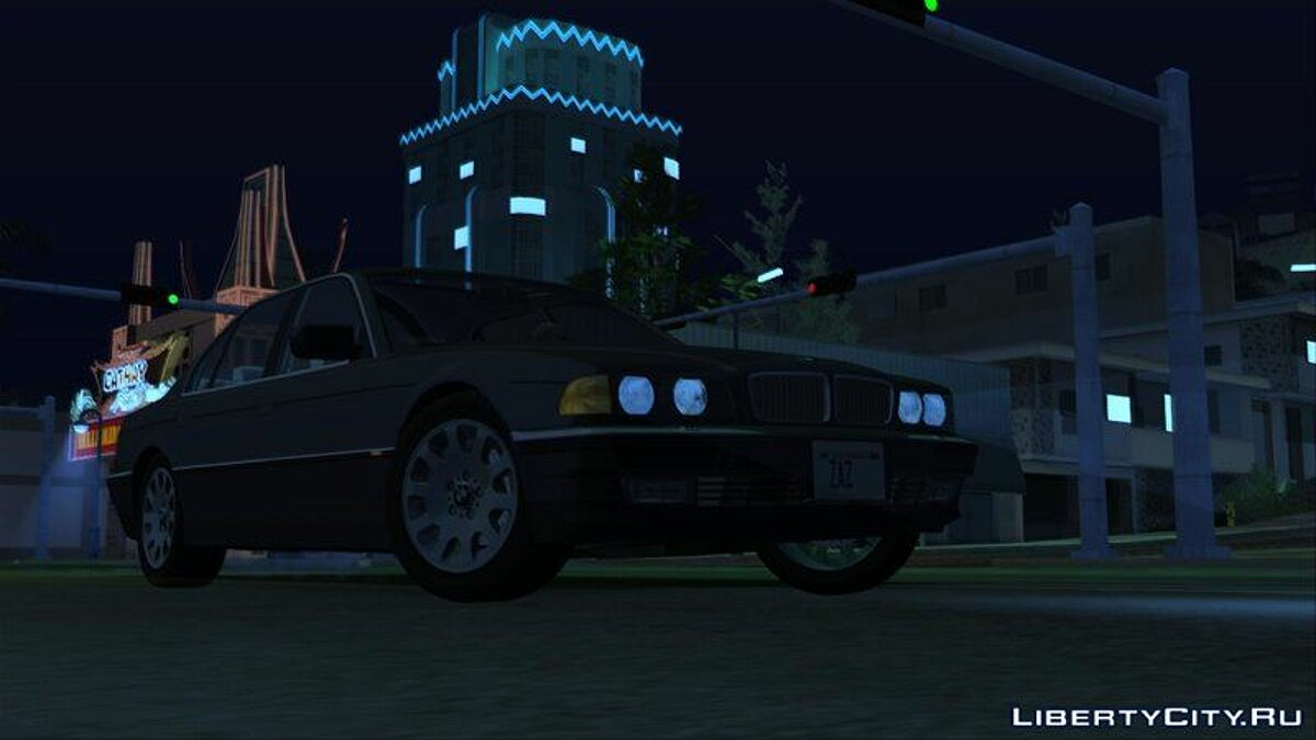 BMW car BMW 7-Series 750iL e38 1995 (US-Spec) for GTA San Andreas