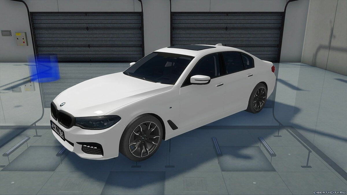 BMW car BMW 540i G30 for GTA San Andreas