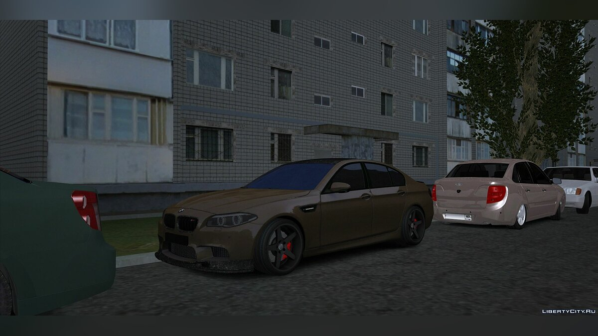 BMW car BMW M5 F10 for GTA San Andreas