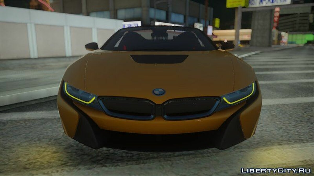 BMW car 2019 BMW i8 Roadster for GTA San Andreas