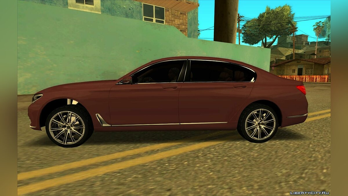 BMW car BMW 750Li 2016 for GTA San Andreas
