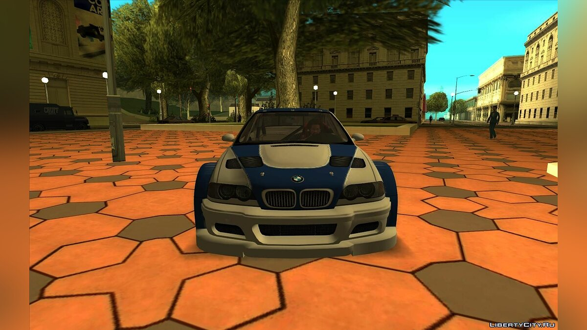 BMW car BMW M3 GTR from NFS: Most Wanted for GTA San Andreas
