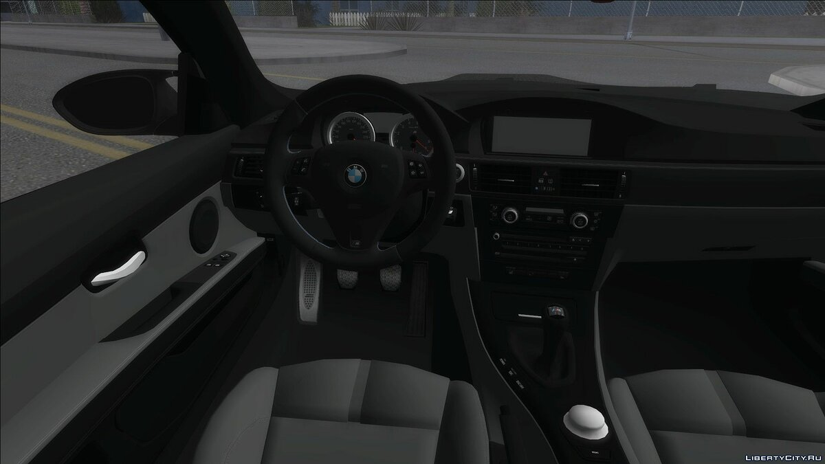 BMW car BMW M3 E92 Soft Tuning for GTA San Andreas