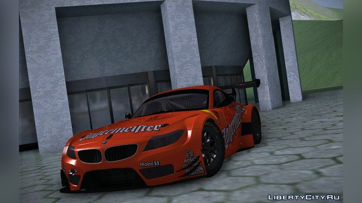 BMW car 2010 BMW Z4 GT3 - Jagermeister for GTA San Andreas