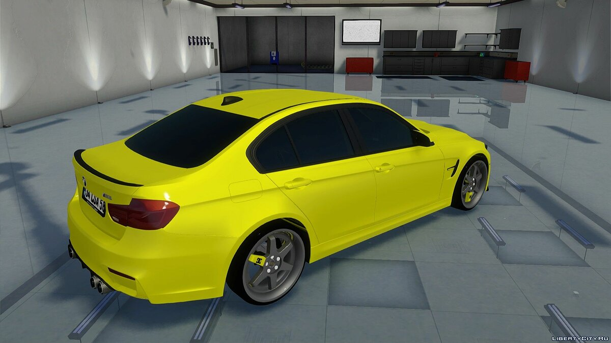 BMW car BMW M3 F80 for GTA San Andreas