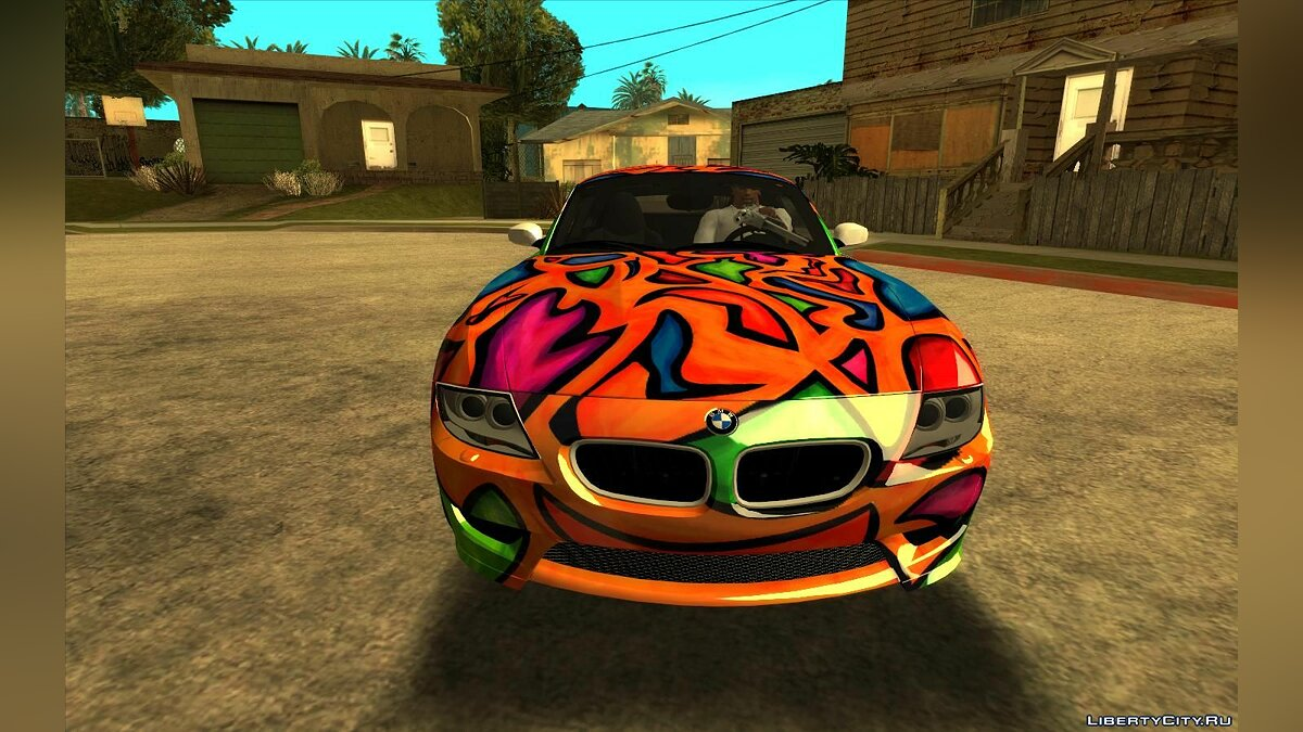 BMW car BMW Z4 M Coupe for GTA San Andreas