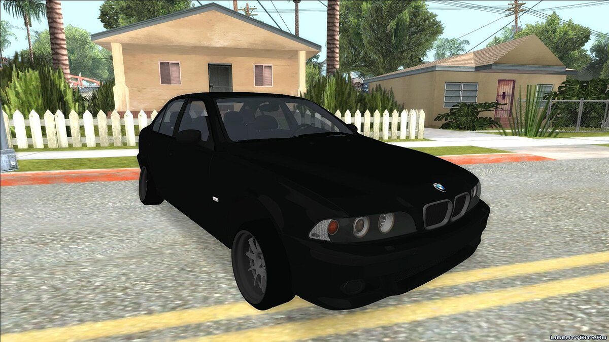 BMW car BMW M5 E39 for GTA San Andreas