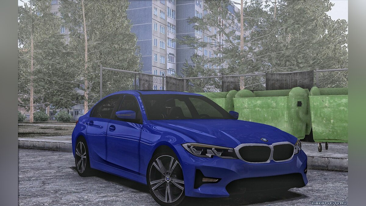 BMW car BMW 330D Sport Line for GTA San Andreas