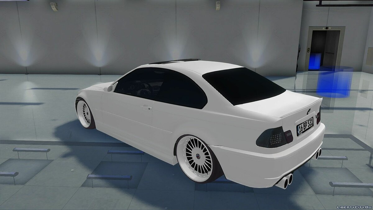 BMW car BMW 318Ci Dapper E46 for GTA San Andreas