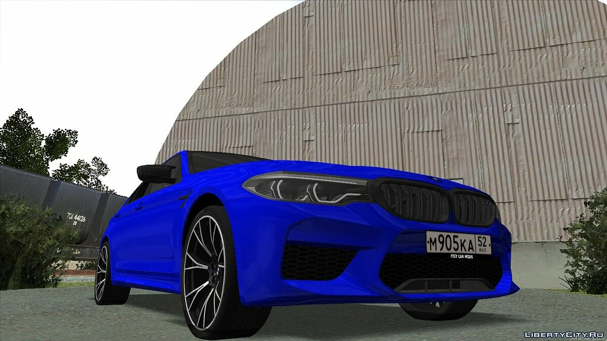 BMW car BMW M5 F90 Competition 2019 for GTA San Andreas