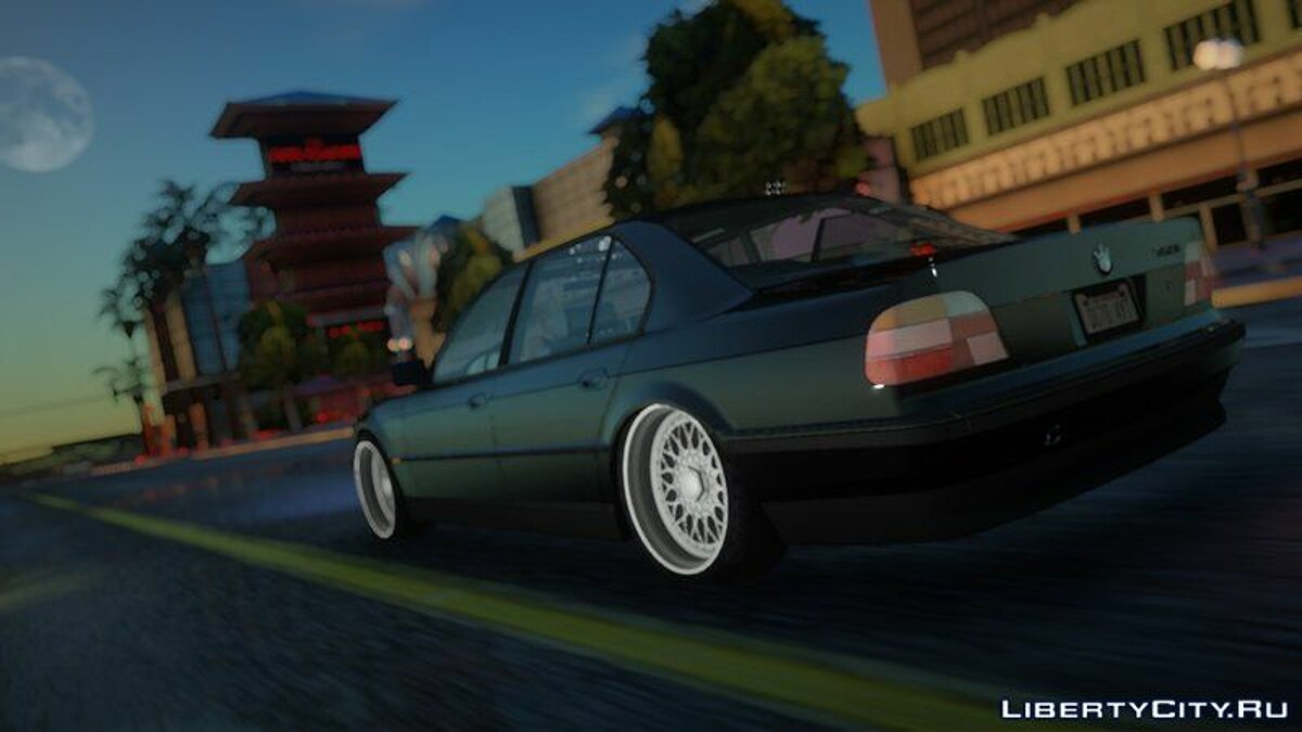 BMW car 1996 BMW 750i E38 [2pac style] for GTA San Andreas