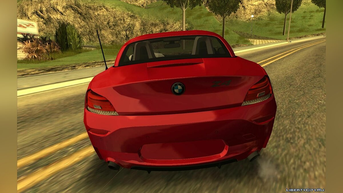 BMW car BMW Z4 sDrive35is for GTA San Andreas