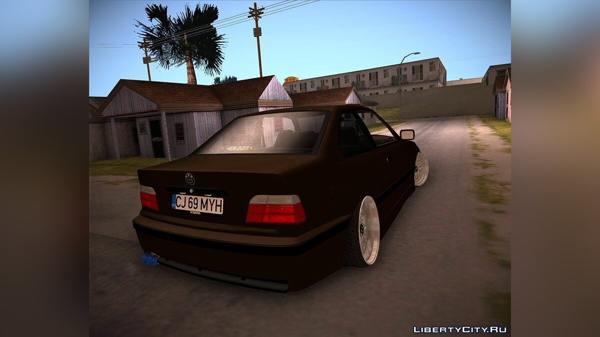 BMW car BMW E36 COUPE for GTA San Andreas