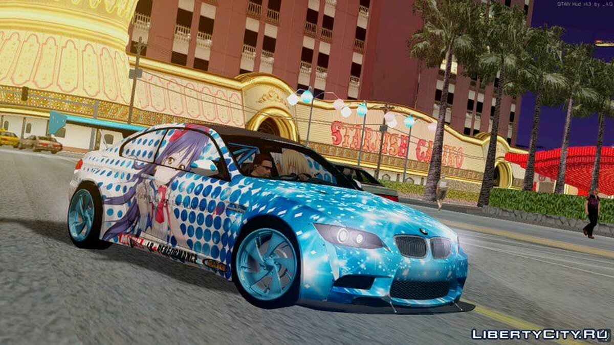 BMW car 2010 BMW M3 GTS (E92) Liberty Walk for GTA San Andreas