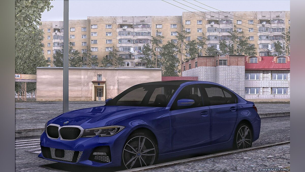 BMW car BMW 330i M-performance for GTA San Andreas