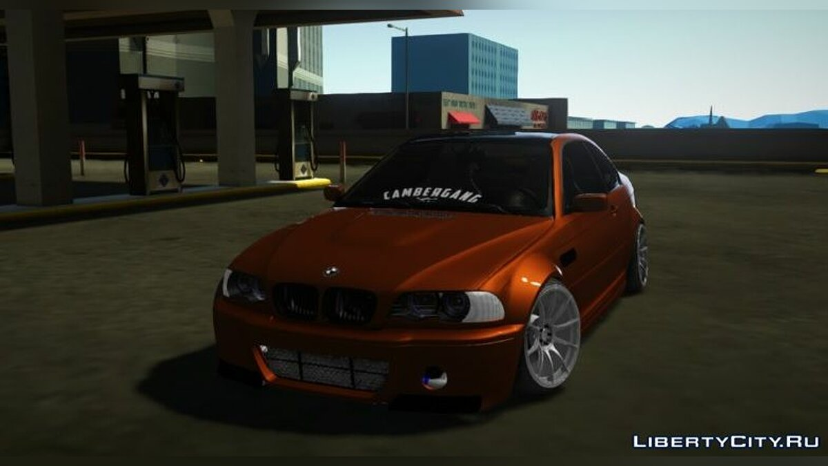 BMW car 2000 BMW E46 - Stance by Hazzard Garage for GTA San Andreas