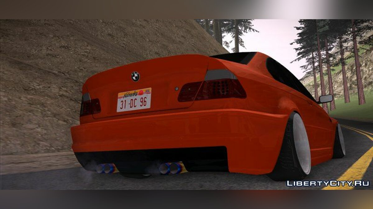 BMW car BMW E46 - Stance for GTA San Andreas