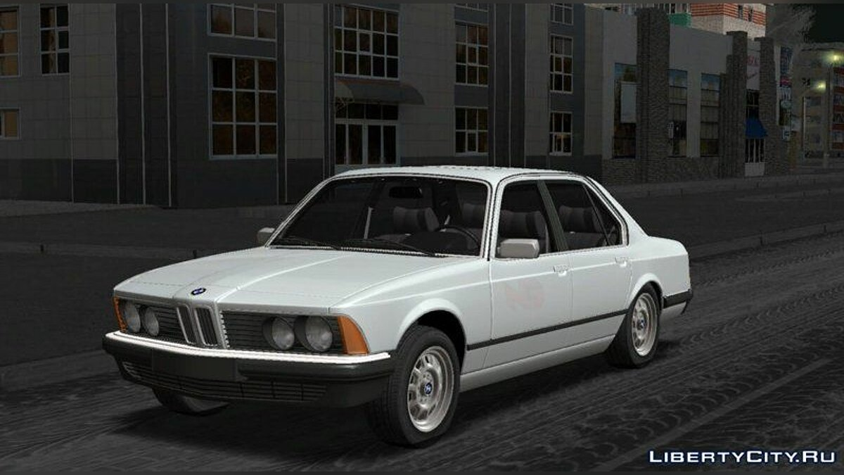 BMW car BMW 7 series E23 for GTA San Andreas