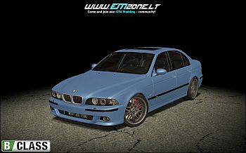 BMW car 2001 BMW E39 M5 - STOCK for GTA San Andreas
