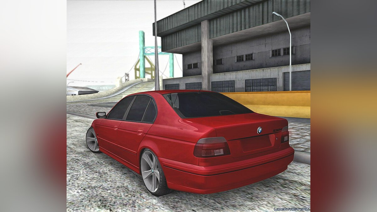 BMW car BMW 530D for GTA San Andreas