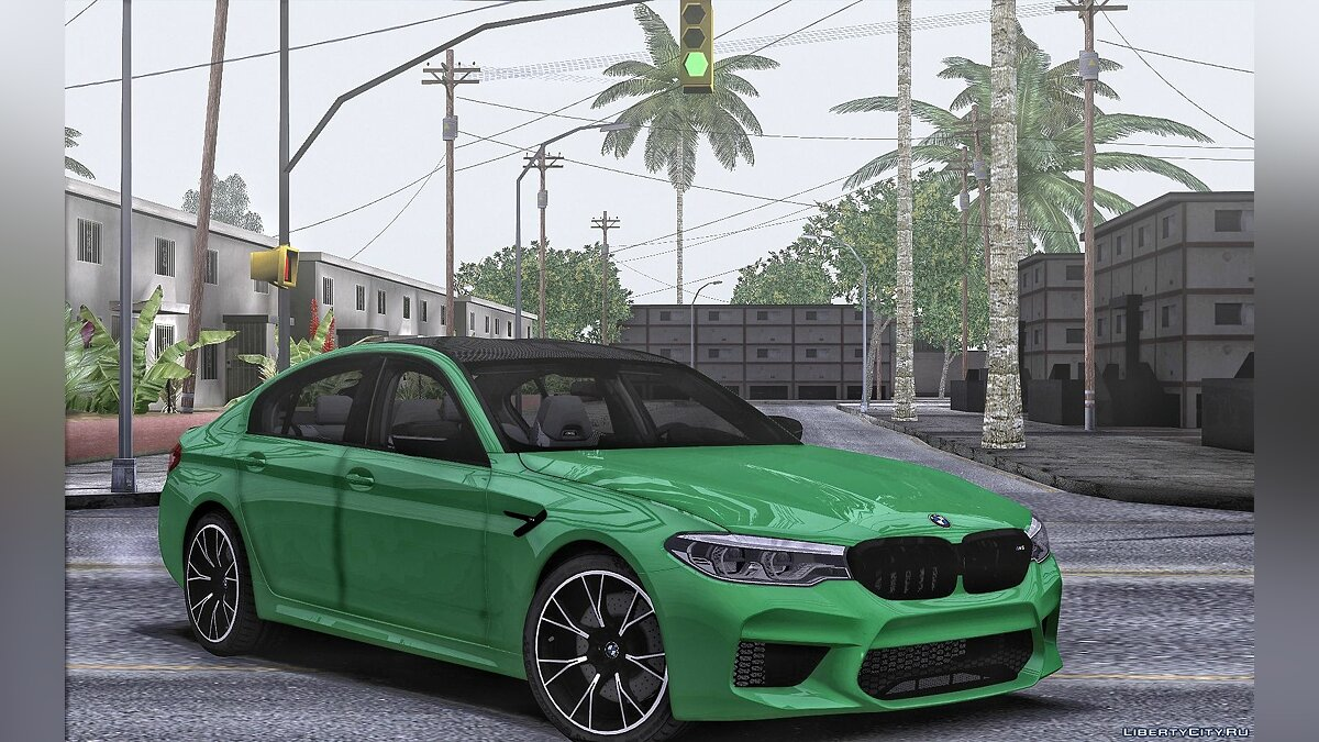 BMW car BMW M5 Competition for GTA San Andreas