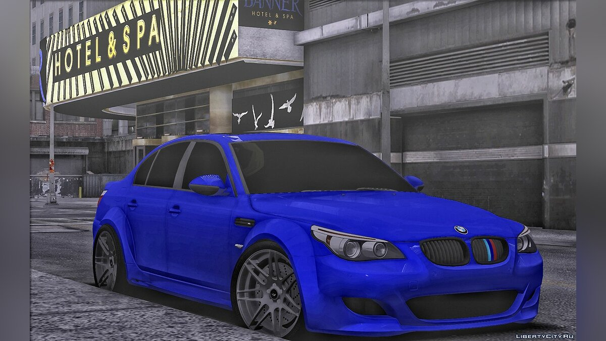 BMW car BMW M5 Lumma for GTA San Andreas