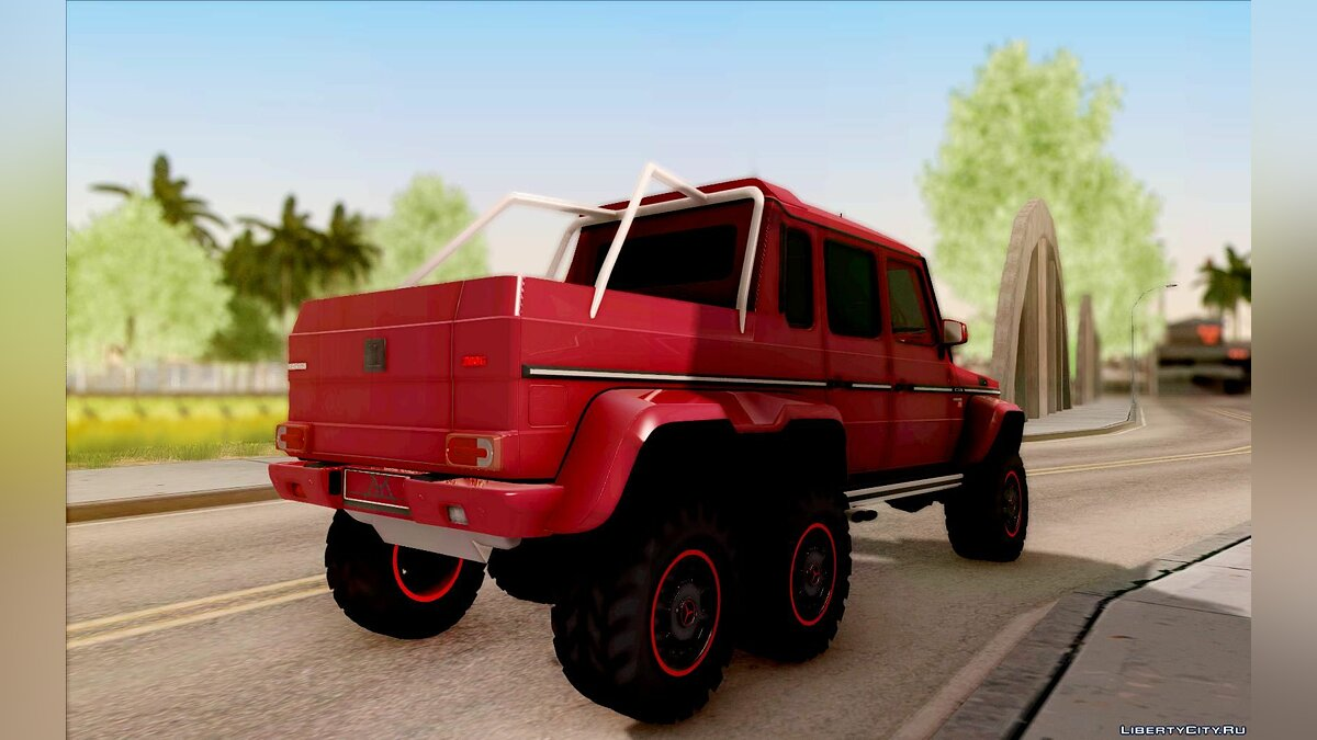 Brabus car BRABUS 700 - Mercedes-Benz G63 AMG 6x6 for GTA San Andreas