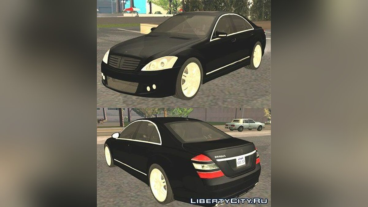 Brabus car 2006 Brabus SV12 S Biturbo (W221) for GTA San Andreas