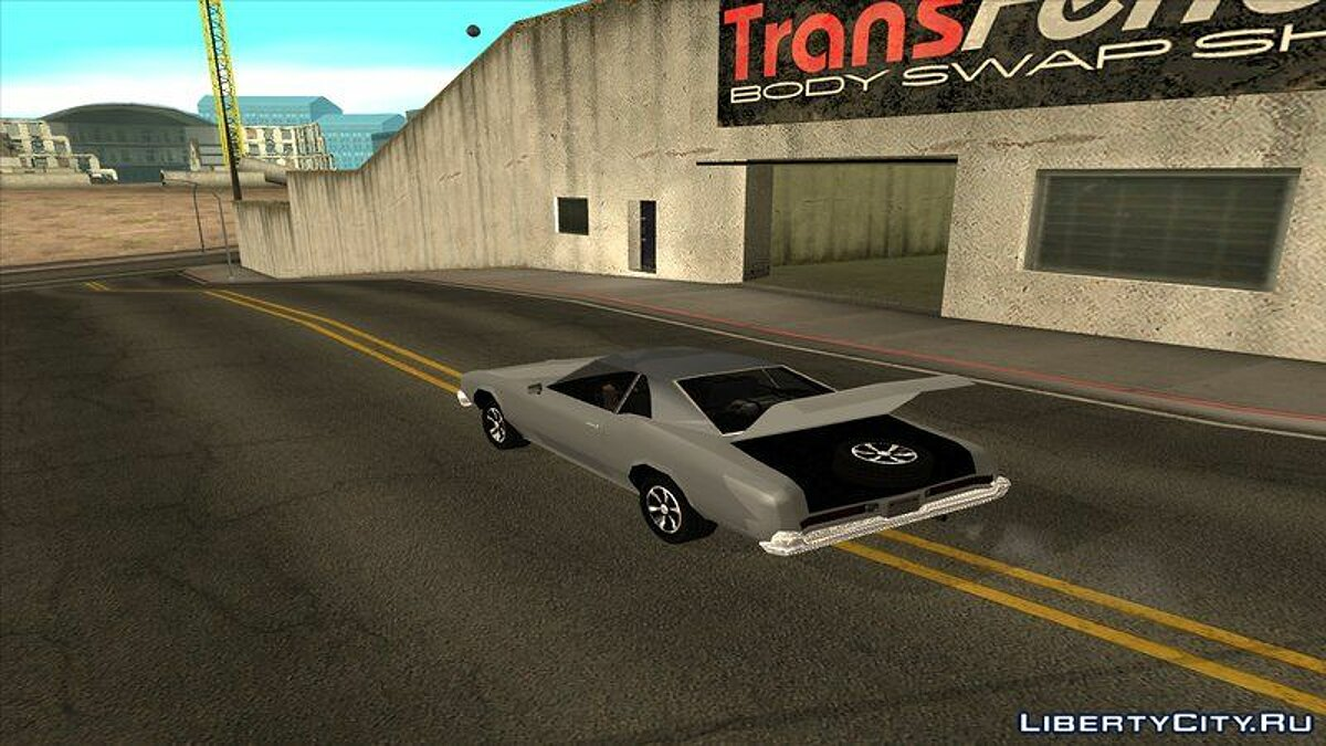 Buick car Buick Riviera 1966 Low Poly for GTA San Andreas