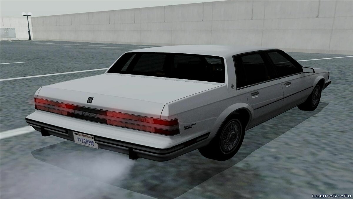 Buick car Buick Century 1986 for GTA San Andreas