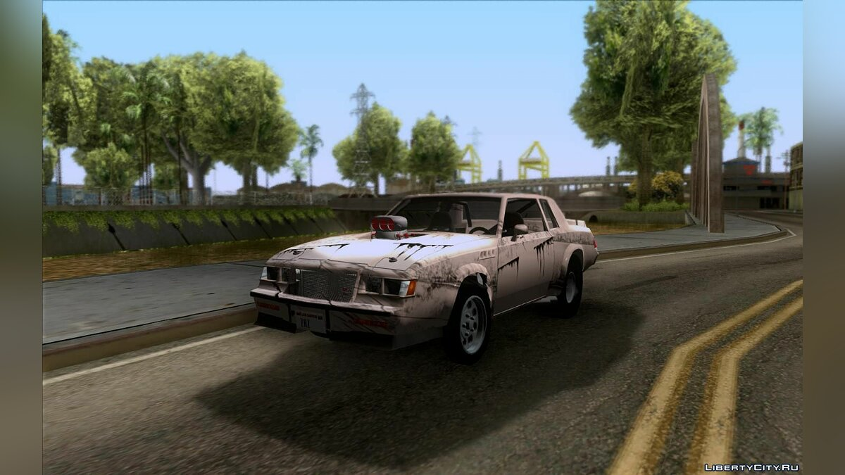 Buick car Buick GNX Pro for GTA San Andreas