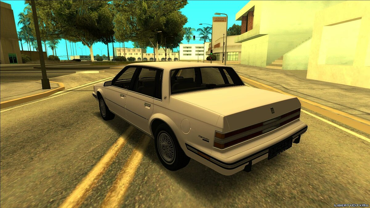 Buick car Buick Century Limited 1983 for GTA San Andreas