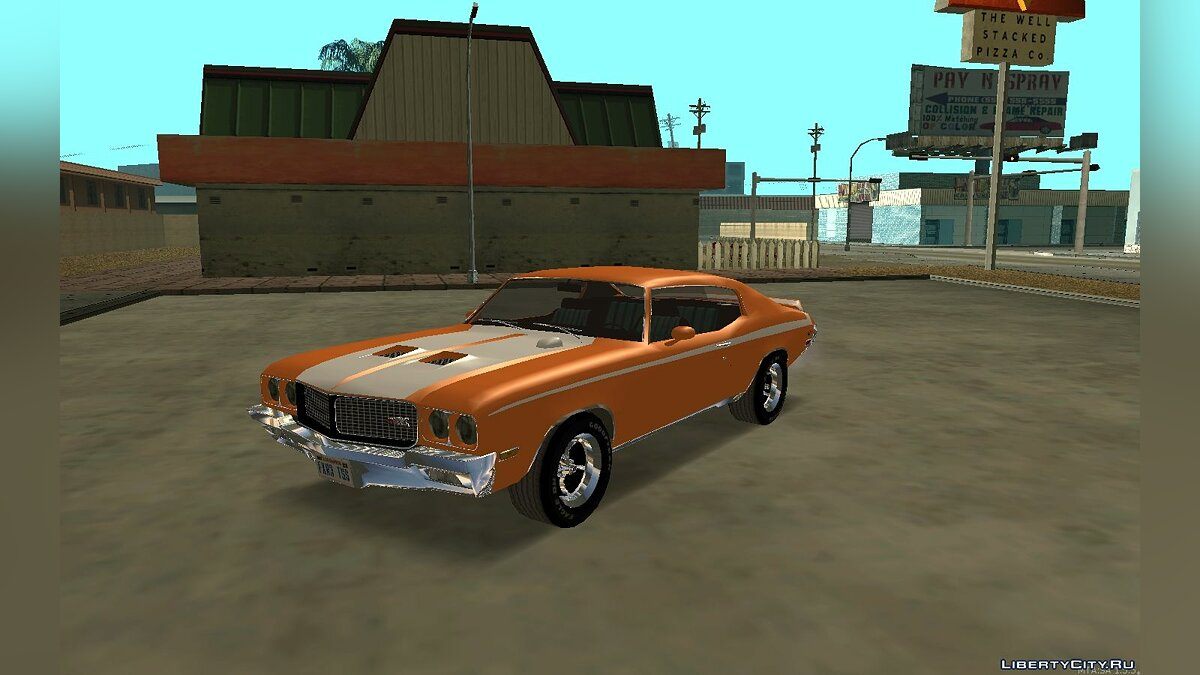 Buick car Buick GSX Stage-1 '70 for GTA San Andreas
