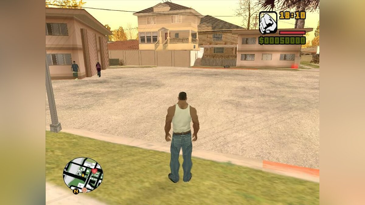 Map editor Building houses 2 for GTA San Andreas
