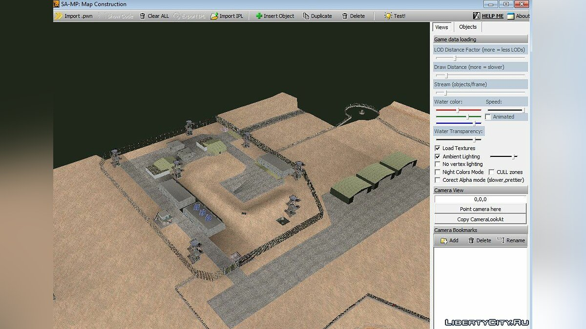 Map editor Samp Map Editor for GTA San Andreas