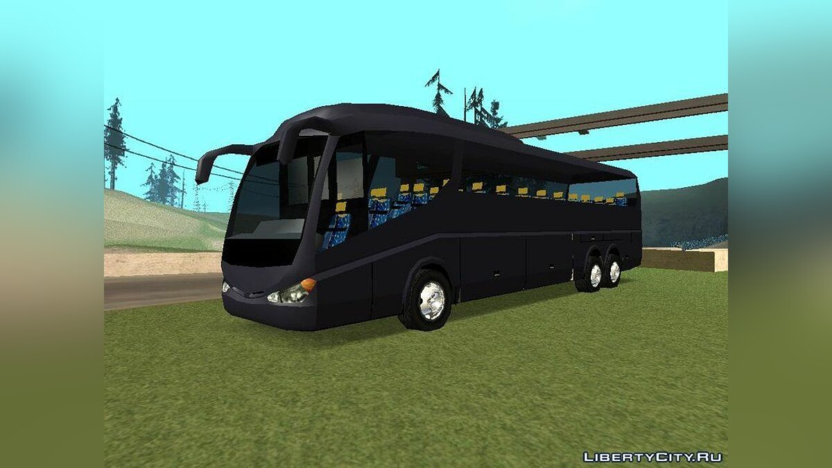 Bus Irizar PB V2 LowPoly GTA SA for GTA San Andreas