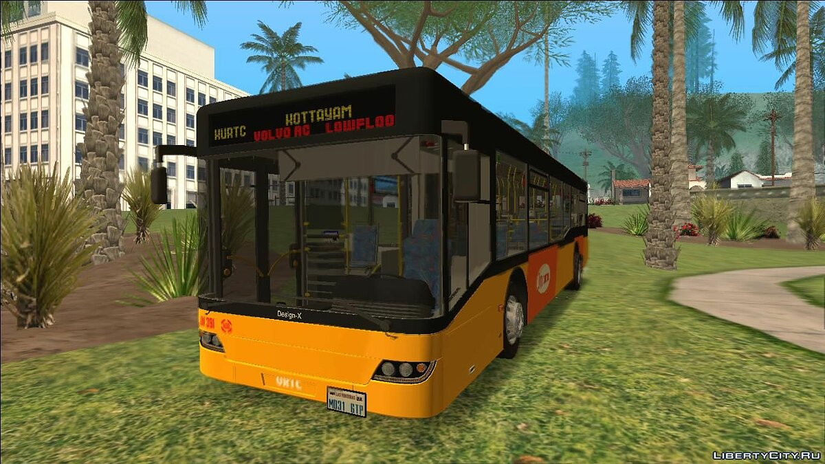 Bus BusKurtc Chill for GTA San Andreas