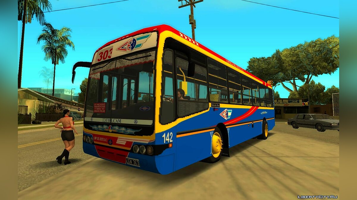 Bus Nuovobus BamBam MB OF1418 - Line 303 for GTA San Andreas