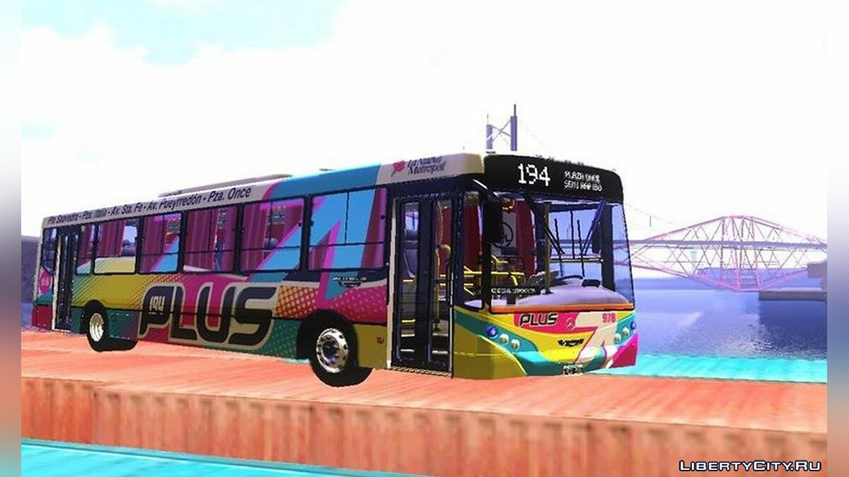Bus OH1718L bus for GTA San Andreas